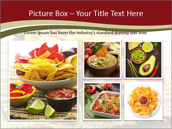 Bowl of salsa PowerPoint Template - Slide 19