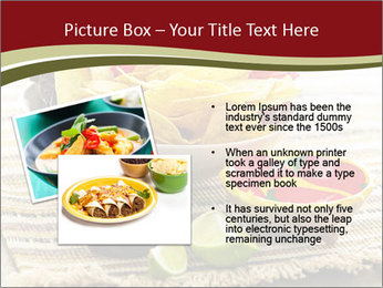 Bowl of salsa PowerPoint Template - Slide 20
