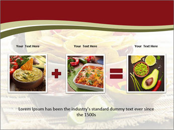Bowl of salsa PowerPoint Template - Slide 22