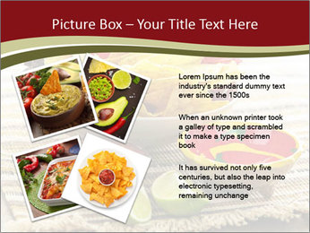 Bowl of salsa PowerPoint Template - Slide 23