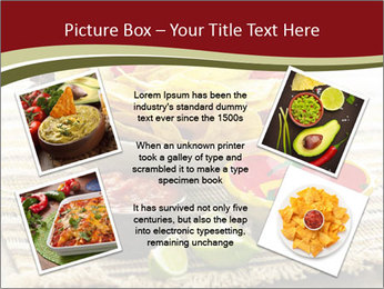 Bowl of salsa PowerPoint Template - Slide 24