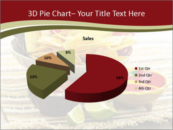 Bowl of salsa PowerPoint Template - Slide 35