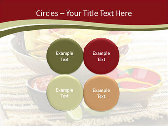 Bowl of salsa PowerPoint Template - Slide 38