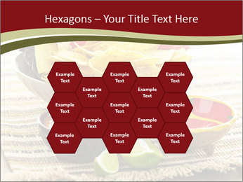 Bowl of salsa PowerPoint Template - Slide 44