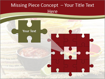 Bowl of salsa PowerPoint Template - Slide 45
