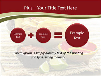 Bowl of salsa PowerPoint Template - Slide 75