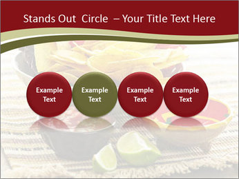 Bowl of salsa PowerPoint Template - Slide 76
