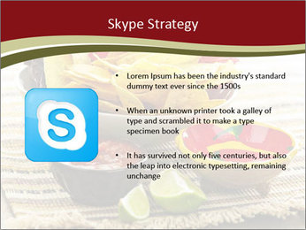 Bowl of salsa PowerPoint Template - Slide 8