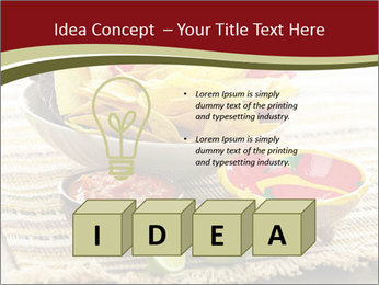 Bowl of salsa PowerPoint Template - Slide 80