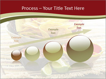 Bowl of salsa PowerPoint Template - Slide 87