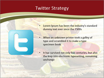 Bowl of salsa PowerPoint Template - Slide 9