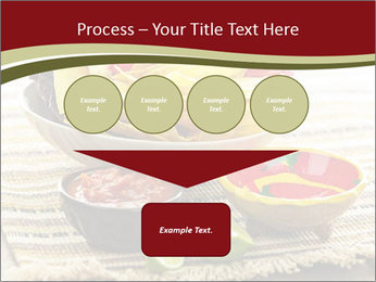 Bowl of salsa PowerPoint Template - Slide 93