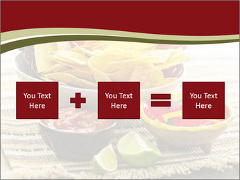 Bowl of salsa PowerPoint Template - Slide 95