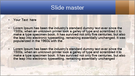 Ancient temple PowerPoint Template - Slide 2