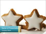 Two standing star PowerPoint Templates