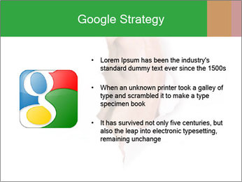 Peeping out PowerPoint Template - Slide 10