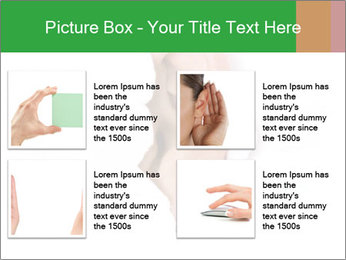 Peeping out PowerPoint Template - Slide 14