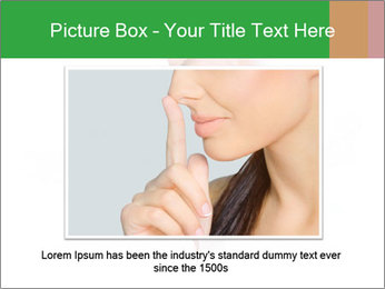 Peeping out PowerPoint Template - Slide 16