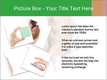 Peeping out PowerPoint Template - Slide 23