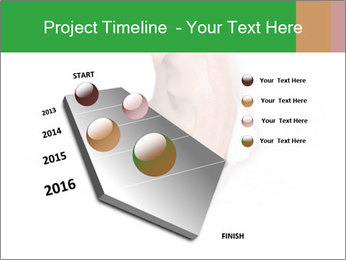 Peeping out PowerPoint Template - Slide 26