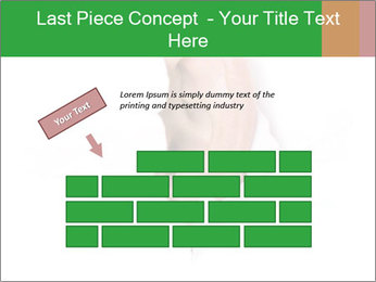 Peeping out PowerPoint Template - Slide 46