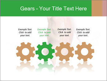 Peeping out PowerPoint Template - Slide 48