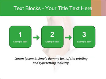 Peeping out PowerPoint Template - Slide 71