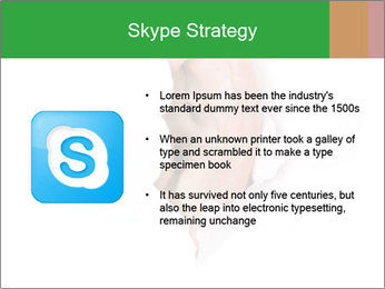 Peeping out PowerPoint Template - Slide 8