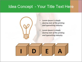 Peeping out PowerPoint Template - Slide 80