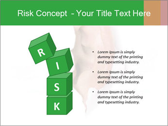 Peeping out PowerPoint Template - Slide 81