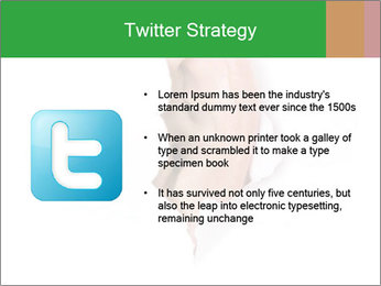 Peeping out PowerPoint Template - Slide 9