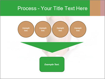 Peeping out PowerPoint Template - Slide 93