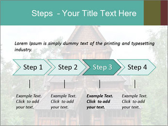 Old church PowerPoint Template - Slide 4