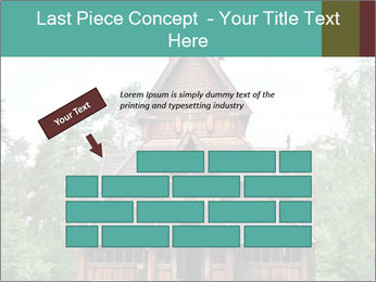 Old church PowerPoint Template - Slide 46