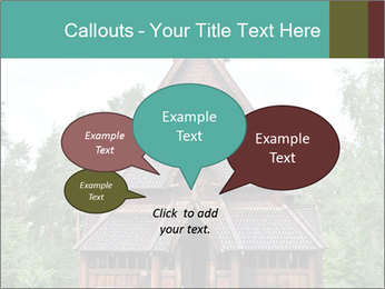 Old church PowerPoint Template - Slide 73