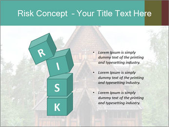 Old church PowerPoint Template - Slide 81