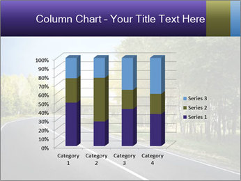 Empty curved road PowerPoint Template - Slide 50