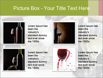 Champagne at a party PowerPoint Template - Slide 14
