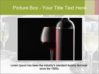 Champagne at a party PowerPoint Template - Slide 15