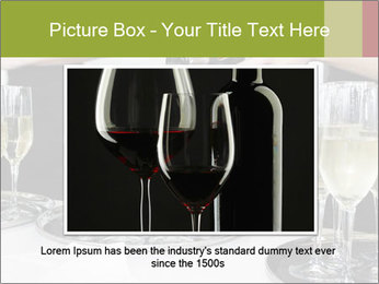 Champagne at a party PowerPoint Template - Slide 16