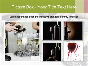 Champagne at a party PowerPoint Template - Slide 19