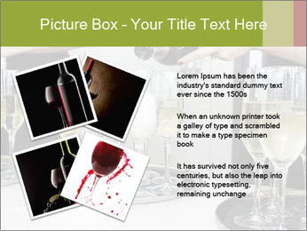 Champagne at a party PowerPoint Template - Slide 23
