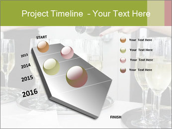 Champagne at a party PowerPoint Template - Slide 26