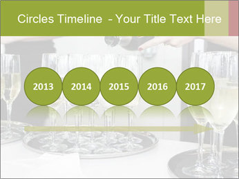 Champagne at a party PowerPoint Template - Slide 29