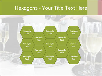 Champagne at a party PowerPoint Template - Slide 44