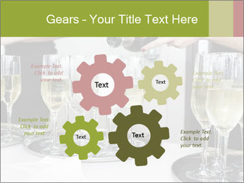 Champagne at a party PowerPoint Template - Slide 47