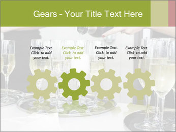 Champagne at a party PowerPoint Template - Slide 48