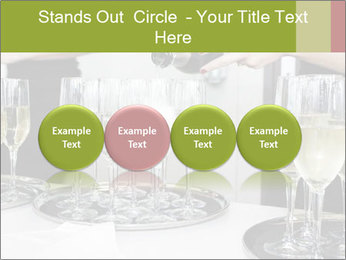 Champagne at a party PowerPoint Template - Slide 76