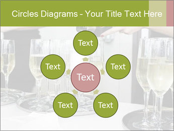 Champagne at a party PowerPoint Template - Slide 78