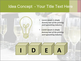 Champagne at a party PowerPoint Template - Slide 80